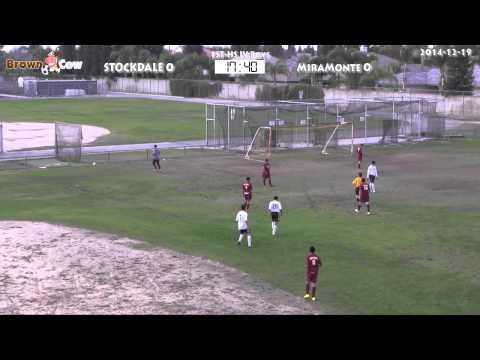 20141219 HS JV Boys Soccer   Miramonte v Stockdale 1st Half