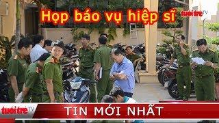 """⚡ NÓNG   Công an TP.HCM họp báo vụ nhóm trộm đâm 2 """"hiệp sĩ"""" tử vong"""