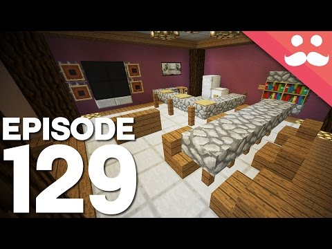 Hermitcraft 3: Episode 129 - Building a Lovely Living Room!