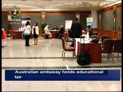 Australian Embassy In Kuwait Holds Education Fair