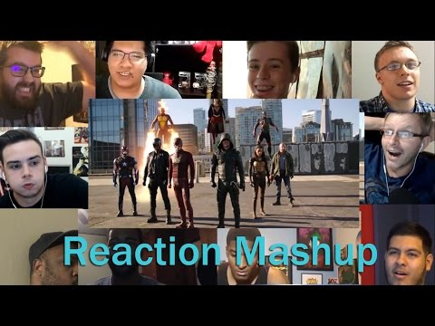 CW Crossover  Heroes v Aliens  The Dominators REACTION MASHUP