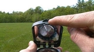 Using a Compass to Follow an Azimuth or Bearing