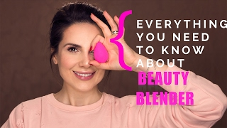 Everything you need to know about the Beauty Blender | Ali Andreea