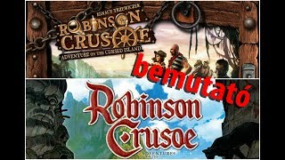 Robinson Crusoe: Adventures on the Cursed Island - társasjáték bemutató