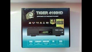 Обзор ресивера ► Tiger 4160 HD