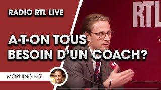 Alex Wagner en direct sur radio RTL - A-t-on tous besoin d'un coach? [extraits]