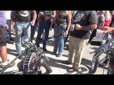 Tropical Tattoo Old Chopper Show Biketoberfest 2013