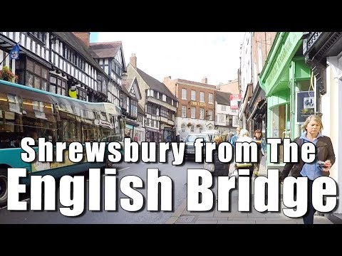 Walks in Shropshire: Shrewsbury from the English Bridge