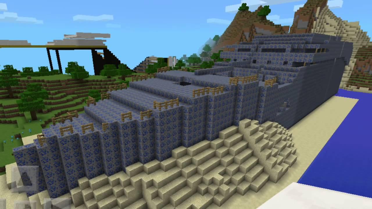 Best Titanic Map On Minecraft Pe YouTube - Die besten maps fur minecraft pe