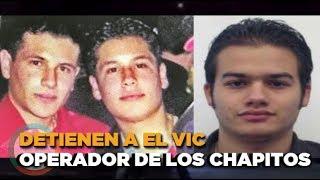 El Vic operador principal  de Los Chapitos detenido en #CDMX