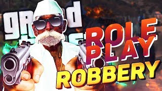 TAU IN ACTION!! GTA  RP BANK ROBBERY $$