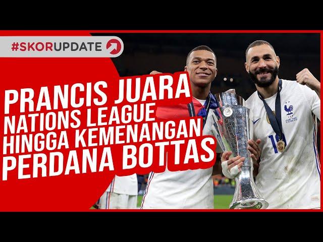 Prancis Juara Nations League Hingga Kemenangan Perdana Bottas