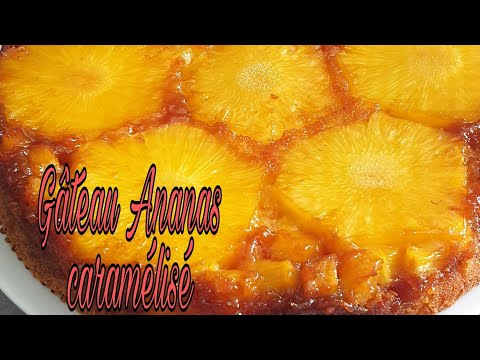 gâteau-ananas-caramélisé-🍍
