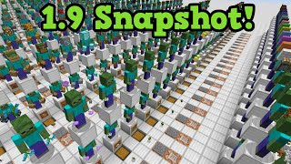 Minecraft 1.9 Snapshot - Release Date + Ender Dragon RESET