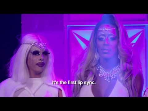 Jaymes Mansfield vs Kimora Black Lip sync for your life Love Shack