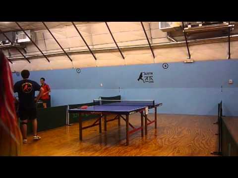 Austin Table Tennis Club Ash Idnani 1623 Vs Patrick Furgason 1840