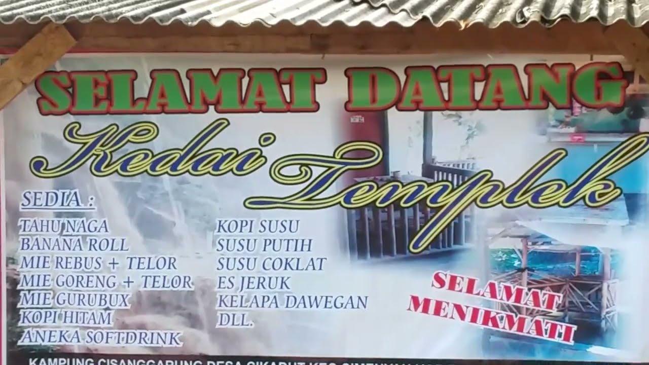 Bandung 8 Curug Batu Templek Pasir Impun Gold Waterfall Youtube