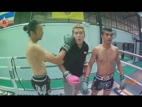 Bangkok United TV : 2 หนุ่ม แข้งเทพ กับการทดลองกีฬามวย