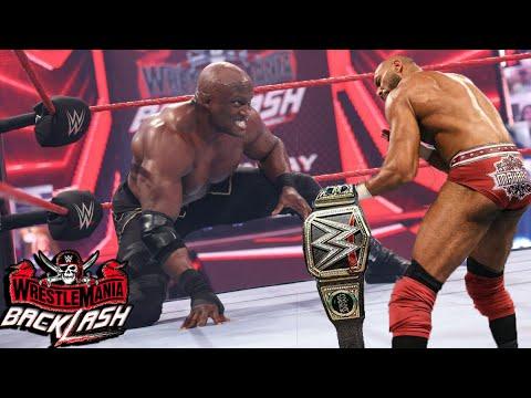 Download WWE Backlash 2021 Highlights - Jinder Mahal Attacks, Roman Reigns VS. Cesaro  WrestleMania Backlash 