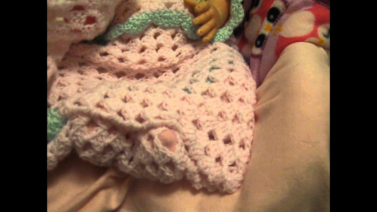 Made A Preemie Blanket For Ladiebuggiebabie Youtube