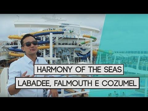 A BORDO DO HARMONY OF THE SEAS - LABADEE, FALMOUTH E COZUMEL