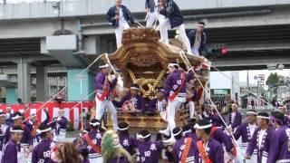 2014年10月4日 大阪府堺市南区 上神谷地区.