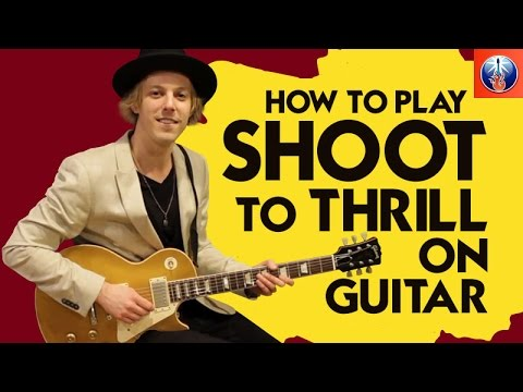 how to play shoot to thrill on guitar ac dc back in black lesson youtube. Black Bedroom Furniture Sets. Home Design Ideas