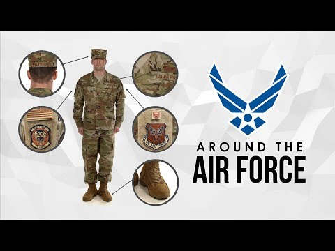 Around The Air Force: 35th Space Symposium / OCP Uniform Guidance