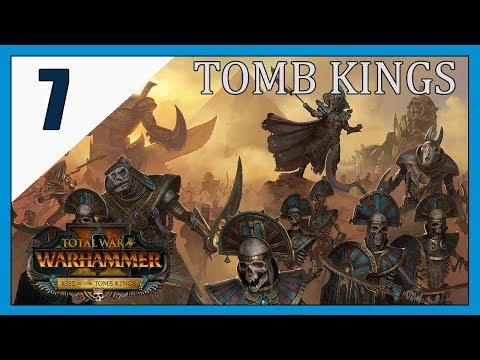 So many Sauras Warriors.. Total War: Warhammer 2. Tomb Kings - High Queen Khalida . Let's Play 7
