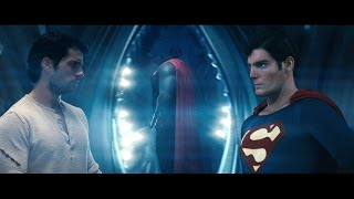 Christopher Reeve Passes The Torch To Henry Cavill [HD]