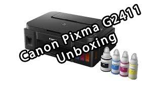 Canon Pixma G2411 | Unboxing | PT-BR