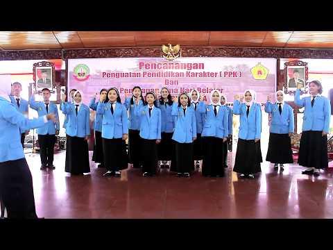 MARS SISWA BERKARAKTER BANGSA - BY SPENSA Choir 2017