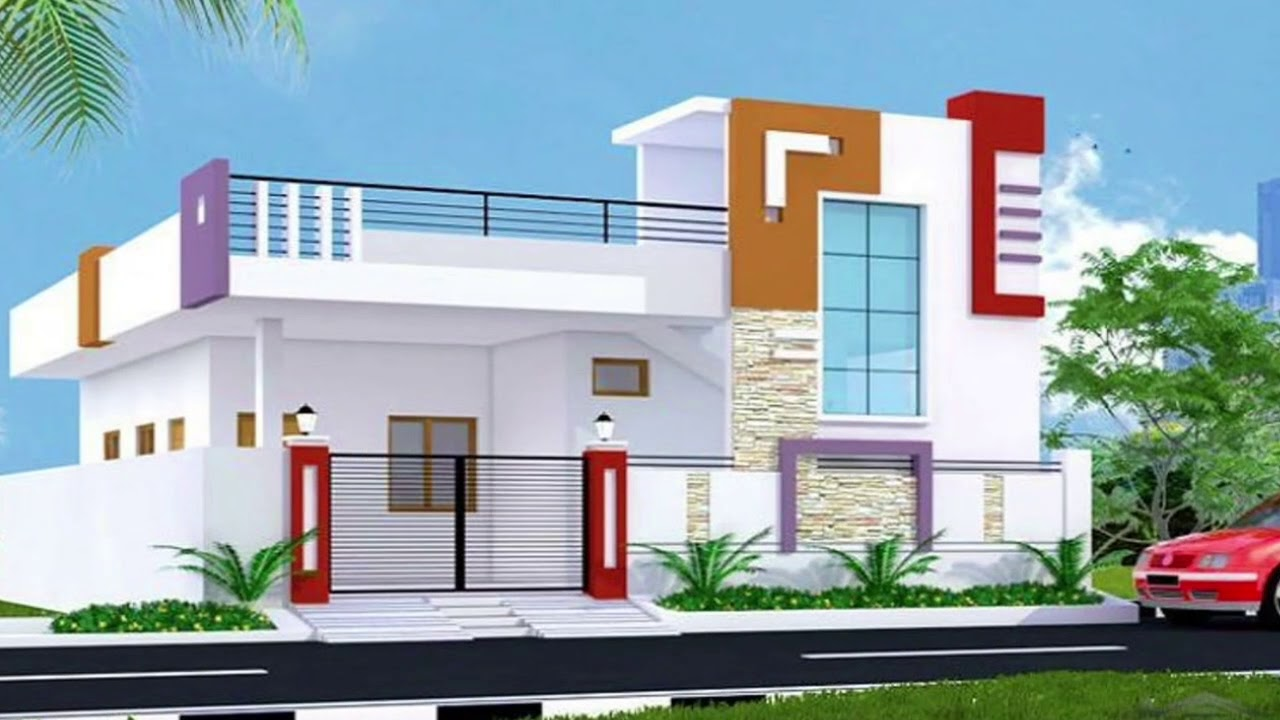 3d elevation design in autodesk 3ds max youtube for Autodesk online home design