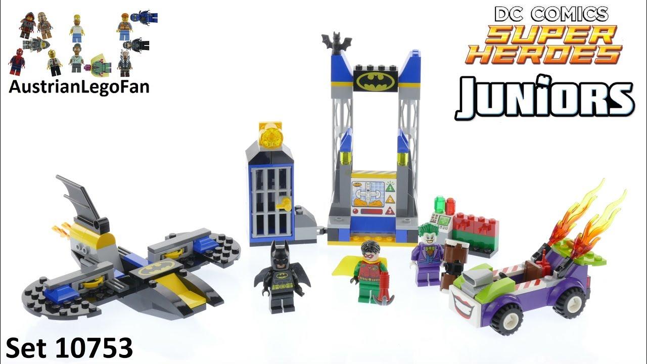 10753 Tshqdrcx Lego Attack Dc Juniors Batcave Joker Speed The Heroes F3TlK1Jc