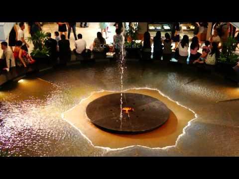 Beautiful Fountain Water Display in Singapore