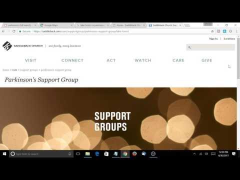 Lake Forest Ca Parkinsons Support Group : SEO and Website Audit