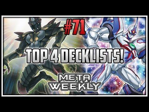 EPIC Finals! Top 4 Decklists! Meta Weekly 71 [Yu-Gi-Oh! Duel Links]