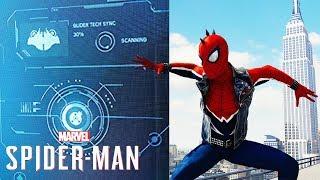 Spider-Man PS4 - Look What They Found! - Glider Secret & DLC Size