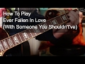 'Ever Fallen In Love (With Someone You Shouldn't've)' Buzzcocks Guitar Lesson