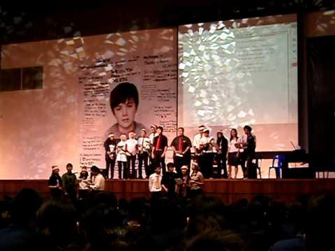 Sri KDU International School Performance-IB Students Singing Mistletoe by Justin Bieber