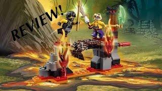 Lego Ninjago 70753 Lava Falls Review! + Shoutout!
