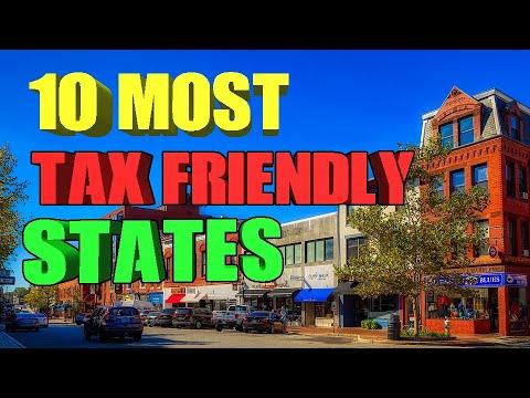 10 Tax Friendly States