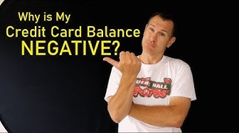 What A Negative Credit Card Balance Means