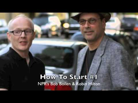 All Songs Considered hosts talk about How To Start an interview