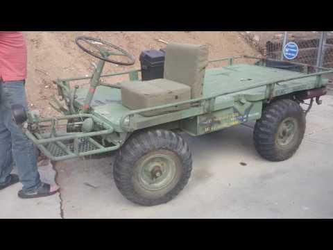 My M274 Military Mule Starting And Running Original