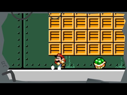 Let's Play SMB: Hunt for the Magical Key (24) – Factory Flames