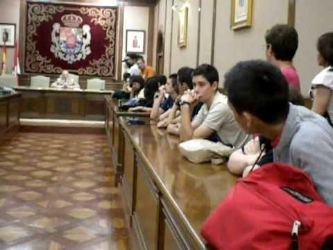 Alumnos de Austin, Texas (USA) en Ávila