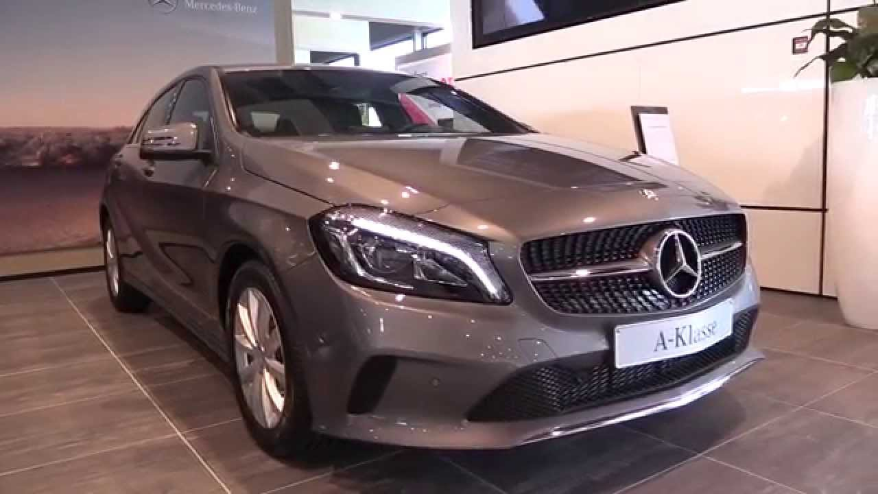 mercedes benz a class 2016 in depth review interior exterior youtube. Black Bedroom Furniture Sets. Home Design Ideas
