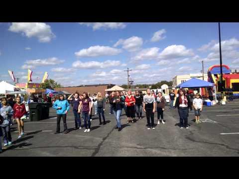 Aglow flash mob Gallatin Tennessee