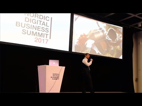 Futurist Keynote Speaker Matthew Griffin: Future of Transportation, NDBS, Helsinki